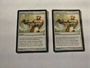 Magic The Gathering 2x Vedalken Shackles Fifth Dawn - Near Mint/nm 1