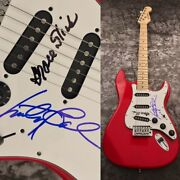 Gfa Grace Slick And Marty Balin Jefferson Airplane Signed Electric Guitar Coa