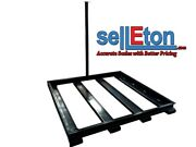 Pit-frame Bumper Floor Scale Protector In-ground Or Above Ground 48 X 72