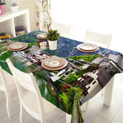 Vitalized Country3d Tablecloth Table Cover Cloth Rectangle Wedding Party Banquet