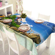 Release Yourself 3d Tablecloth Table Cover Cloth Rectangle Wedding Party Banquet