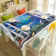 Holiday Leisure 3d Tablecloth Table Cover Cloth Rectangle Wedding Party Banquet