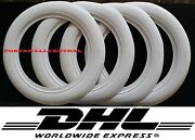 Atlas Brand 13 Wheel 3 Inches Wide 4 New Tires White Wall Set.free Shipping