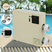 5.5/11/15kw 240v Swimming Pool And Spa Hot Tub Electric Water Heater Thermostat