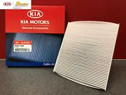 2005-2017 Kia Rio And 2011-2016 Sportage New Oem Cabin Air Filter P8790 1f200a