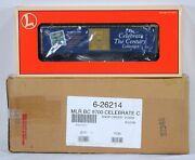 Lionel 26214 Uncatalogued Celebrate The Century Stamp Boxcar Nib With Osc