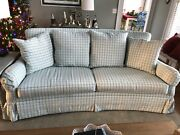 Drexel-heritage Sofa With Vera Bradley Fabric Upholstery-made In High Point Nc