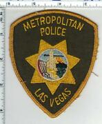 Las Vegas Police Nevada Uniform Take-off Shoulder Patch From The Late 1970and039s