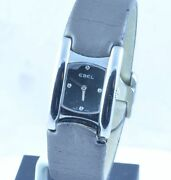 Ebel Beluga Cuff Women's Watch With Leather Band And Folding Clasp 0 31/32in