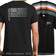 Usa Cooks Flag T-shirt American Bbq Grill Cook Flag Shirt Usa Bbq Grilling Shirt