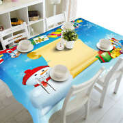 A Long Wish List 3d Tablecloth Table Cover Cloth Rectangle Wedding Party Banquet
