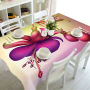 Blooms Right Now 3d Tablecloth Table Cover Cloth Rectangle Wedding Party Banquet