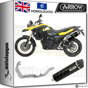 Arrow Full Exhaust System Maxi Racetech Dark Carby Cup Hom Bmw F800 Gs 2009 09