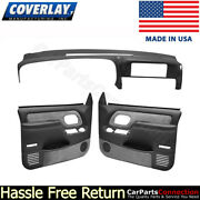 Coverlay - Dash Board Cover Door Panel Kit Dark Gray 18-798c59f-dgr For C/k