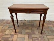Antique English Mahogany Card Game Table, C. Mid 19th Century