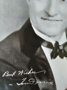1936 Tom Mix Western Cowboy Autographed Fountain Pen Hand Signed 8x10 Photograph