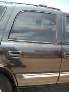 Passenger Right Rear Side Door W/privacy Glass Electric Fits 00-06 Tahoe 344955