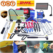 Paintless Dent Repair Puller Lifter Pdr Tools Push Rods Removal Led Line Board