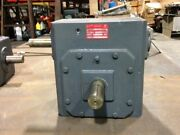 Browning 450ur30 Single Reduction Worm Gear Reducer
