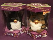 2 Pieces New 1998 Tiger Electronic Furby Model 70-800 Boys And Girls Vintage