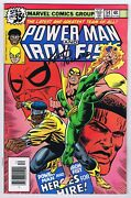 Power Man And Iron Fist 54 Fn 1978 Signed W/coa Keith Pollard 1st Team-up Marvel