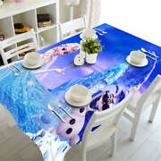 A Crystal Skirt 3d Tablecloth Table Cover Cloth Rectangle Wedding Party Banquet