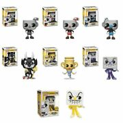 Funko Cuphead Mugman Devil Pops Chase Vaulted Retired Limited Supply