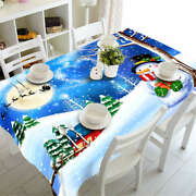 Warm Gloves 3d Tablecloth Table Cover Cloth Rectangle Wedding Party Banquet