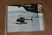 192 Brochure Hélicoptère Aircraft Helicopter Agusta Bell 206b Military