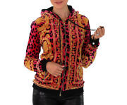 Sold Out Everywhere New Versace Barocco Animalier Velvet Jacket 40