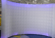 Inflatable Led White Photo Booth Wall - Weddings Birthdays Events Advertising Y