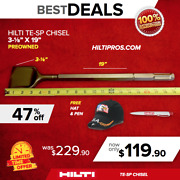 Hilti Chisel Te-sp 3-1/8 X 19, Preowned, For Te 805, 905, 1000, Fast Ship