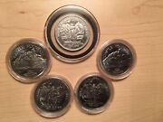 5 - 1986 Castle Mountain Royal Canadian Mounted Police 100 Years Banff Tokens