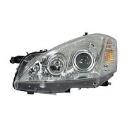Replacement Headlight Assembly For Mercedes-benz Passenger Side Mb2503218