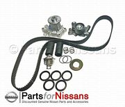 Genuine Nissan 300zx Z32 1990-1993 60k Timing Belt Water Pump Service Kit Oem