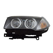 Replacement Headlight For 07-10 Bmw X3 Passenger Side Bm2503151