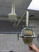 Pelton And Crane Ceiling Mount Dental Light- Good Working Condition- Used