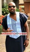 Odeneho Wear Menand039s 2 Pieces Set Agbada. African Clothing.all Colors.
