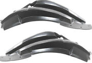 New Front Fender Liner Splash Guard Rear Section Pair Set 09-17 Chevy Traverse