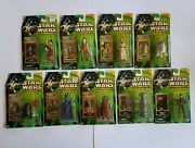 Hasbro Star Wars Power Of The Jedi Lot Of 9 Collectible Action Figures