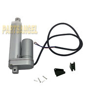 Heavy Duty 4 Linear Actuator With Bracket 4 Inch Stroke 170lb Max Lift Dc 12v