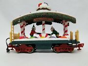 Dillards New Bright Holiday Express Bear Candy Dancer Aminated Excellant Shape