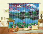 Antique Palace View 3d Curtain Blockout Photo Printing Curtains Drape Fabric