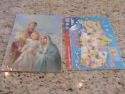 New Autom Holy Family Puzzle And A+ Fifty Great States Puzzle 24 Piece