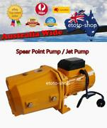 Household Self Priming Cast Iron Jet And Spear Point Pump Garden Irrigation