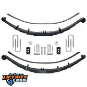 Icon 95220 Rxt Multi-rate Rear Leaf Springs For 2010-2014 Ford F-150 2wd/4wd