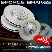 Front And Rear Premium Rotors For 2005-2006 Chrysler Crossfire Srt-6