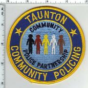 Taunton Community Policing Massachusetts 1st Issue Shoulder Patch