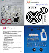 1988 Williams Taxi Pinball Machine Tune-up Kit - Includes Rubber Ring Kit