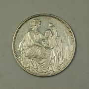 1865 Switzerland Shooting Five Franc 5fr Silver Coin R-1054a Circulated Ja